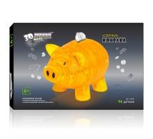 3D Crystal Puzzle Свинья XL 9019