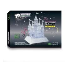 3D Crystal Puzzle Замок со светом и музыкой XL 9020A