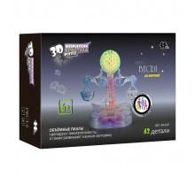 3D Crystal Puzzle Знаки Зодиака Весы со светом (9045A)