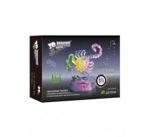 3D Crystal Puzzle Знаки Зодиака Скорпион со светом (9046A)