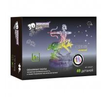 3D Crystal Puzzle Знаки Зодиака Стрелец со светом(9047A)