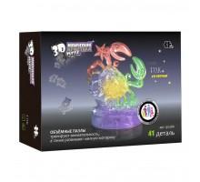 3D Crystal Puzzle Знаки Зодиака Рак со светом(9048A)