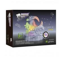 3D Crystal Puzzle Знаки Зодиака Козерог со светом (9053A)
