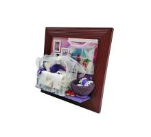 Румбокс Интерьерный конструктор Hobby Day DIY MiniHouse, Настенная рамка-открытка «Моей принцессе», 13602