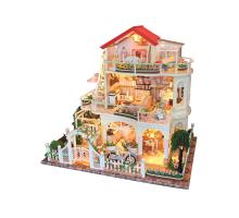 Румбокс Интерьерный конструктор Hobby Day DIY MiniHouse, Вилла в цветах,  13845