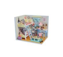 Румбокс Интерьерный конструктор Hobby Day DIY MiniHouse, Комната девчонок, D014