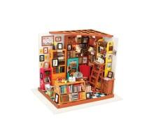 Румбокс Интерьерный конструктор Hobby Day DIY MiniHouse, Библиотека, DG102
