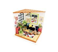 Румбокс Интерьерный конструктор Hobby Day DIY MiniHouse, Гостиная, DG106