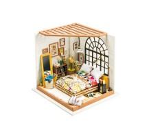 Румбокс Интерьерный конструктор Hobby Day DIY MiniHouse, Спальня, DG107