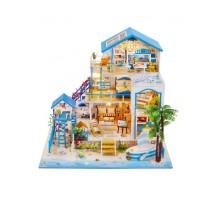 Румбокс Интерьерный конструктор Hobby Day DIY MiniHouse, Жемчужина Средиземного моря,  L906