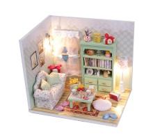 Румбокс Интерьерный конструктор Hobby Day DIY MiniHouse, Чай вдвоём (с фигурками), M012