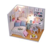 Румбокс Интерьерный конструктор Hobby Day DIY MiniHouse, Комната Полины, M013