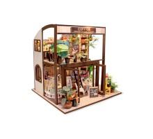 Румбокс Интерьерный конструктор Hobby Day DIY MiniHouse, COFFEE HOUSE, M027