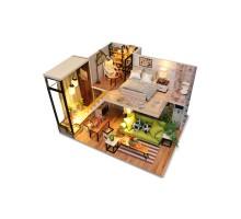 Румбокс Интерьерный конструктор Hobby Day DIY MiniHouse, Скандинавский Лофт, M030