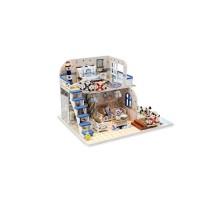 Румбокс Интерьерный конструктор Hobby Day DIY MiniHouse, Домик у моря, M032