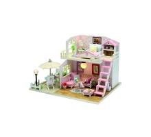 Румбокс Интерьерный конструктор Hobby Day DIY MiniHouse, Розовая мечта, M033