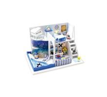 Румбокс Интерьерный конструктор Hobby Day DIY MiniHouse, Морской бриз, M040