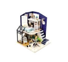 Румбокс Интерьерный конструктор Hobby Day DIY MiniHouse, Путь к звездам, M041