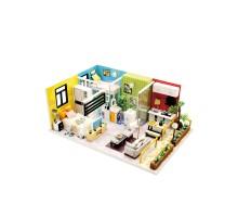 Румбокс Интерьерный конструктор Hobby Day DIY MiniHouse, Квартирный вопрос, M043