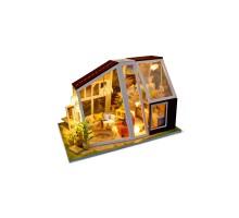 Румбокс Интерьерный конструктор Hobby Day DIY MiniHouse, Хижина 21-ого века, M902