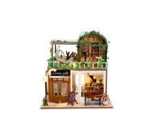 Румбокс Интерьерный конструктор Hobby Day DIY MiniHouse, Лаунж кафе, M906