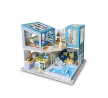 Румбокс Интерьерный конструктор Hobby Day DIY MiniHouse, Голубая мечта,  M910