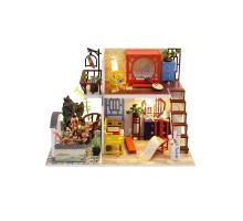 Румбокс Интерьерный конструктор Hobby Day DIY MiniHouse, Восточный лофт,  M916