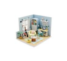 Румбокс Интерьерный конструктор Hobby Day DIY MiniHouse, В стиле «Ретро», S903