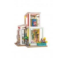 Румбокс Интерьерный конструктор Hobby Day DIY MiniHouse,  Time Studio, TD01W