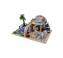 Румбокс Интерьерный конструктор Hobby Day DIY MiniHouse, Вилла, X003