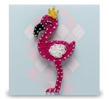 Набор для творчества Стринг Арт. Фламинго П009