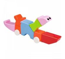 Детский Магнитный конструктор с погремушками 8221-3