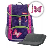 Ранец Step By Step KID Shiny Butterfly 2 предмета